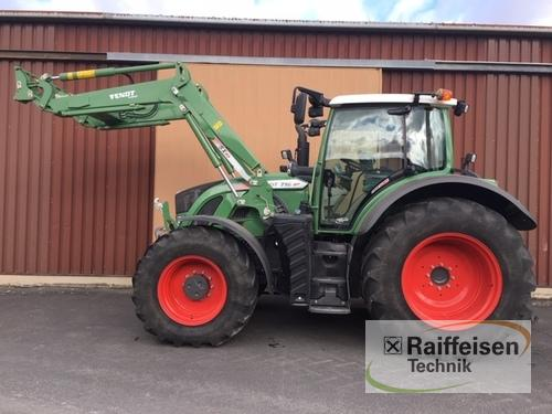 Fendt 716 Vario S4 Profi Plus Year of Build 2015 Hofgeismar