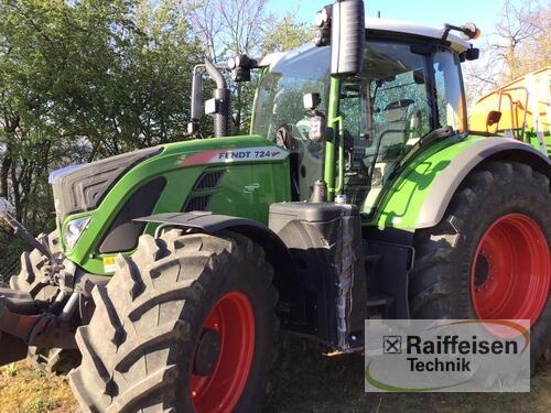 Fendt 724 Vario S4 Profi Plus Año de fabricación 2019 Tüttleben