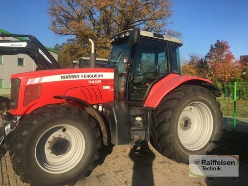 Traktor Massey Ferguson - 7495 Dyna VT neuer Trieb