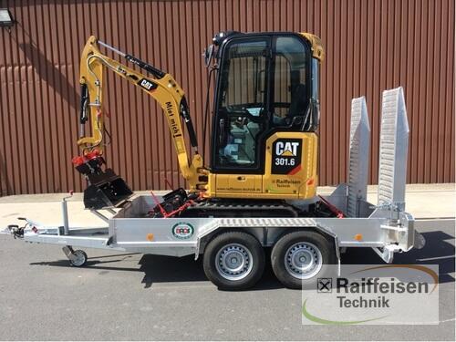 Caterpillar Minibagger 301.6-0 Año de fabricación 2019 Frankenberg/Eder