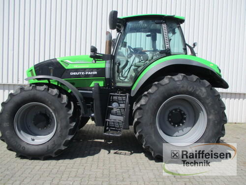 Deutz-Fahr 7250 Ttv Warrior Årsmodell 2015 4-hjulsdrift