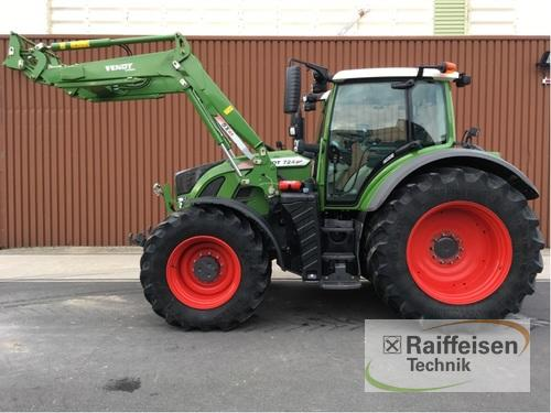 Fendt 724 Vario S4 Profi Year of Build 2017 4WD
