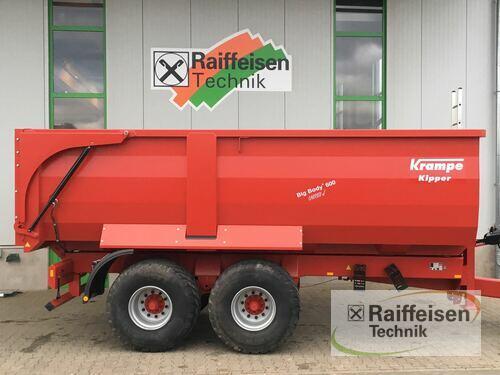 Krampe Big Body 600 Carrier Anul fabricaţiei 2016 Gudensberg