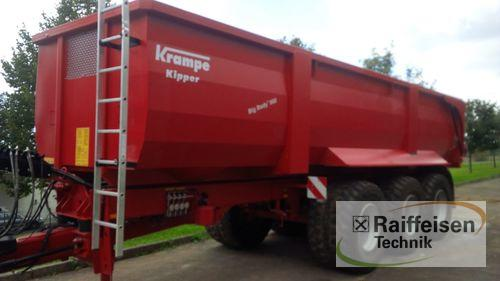 Krampe Big Body 900 Année de construction 2017 Weinbergen - Bollstedt
