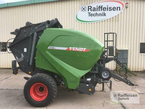Fendt 4160 V Xtra Rundballenpr Baujahr 2019 Wipperdorf