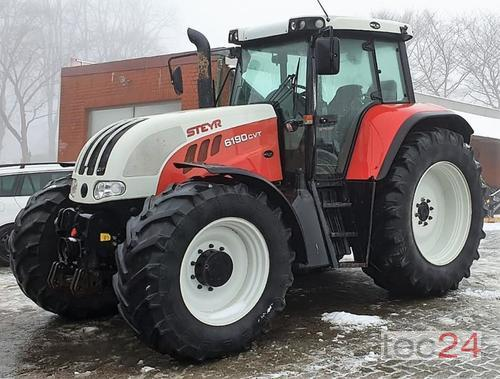 Steyr Cvt 6190 Year of Build 2005 4WD