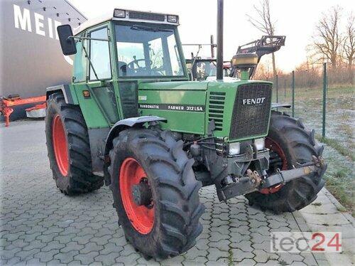 Fendt Farmer 312 LSA Voorlader Bouwjaar 1991