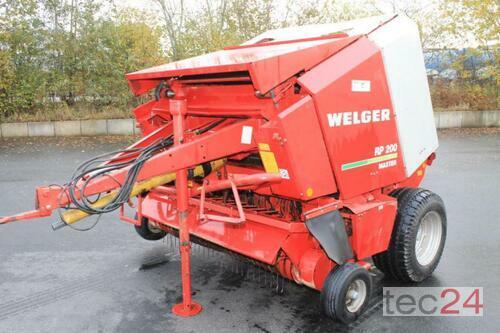 Welger Rp 200 Año de fabricación 1998 Dägeling