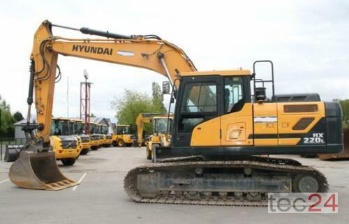 Hyundai Hx 220 L Année de construction 2017 Pragsdorf