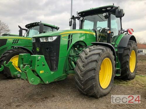 John Deere 8370R Årsmodell 2014 4-hjulsdrift