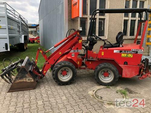 Schäffer 336 Mit Heckhydraulik anno di costruzione 2000 Pragsdorf