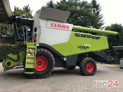 Claas Lexion 670 Baujahr 2017 Pragsdorf