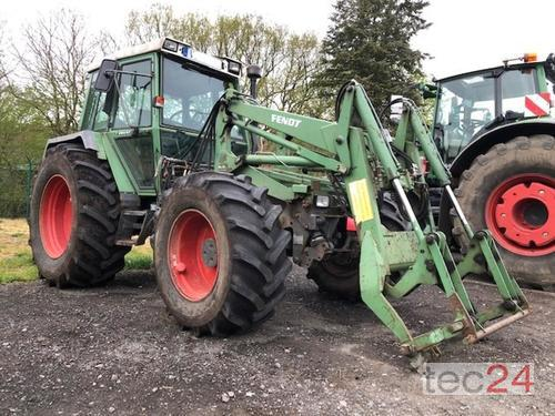Fendt F 380 Gt Mit Fl, Pritsche, Schiebeschild Front Loader Year of Build 1991