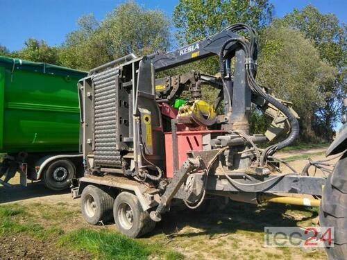 Mus-Max Wt 10 Xl Mit Einem Kesla Kran 800 T Årsmodell 2014 Pragsdorf