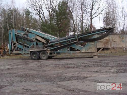 Powerscreen Chieftain I Siebanlage Year of Build 1992 Pragsdorf