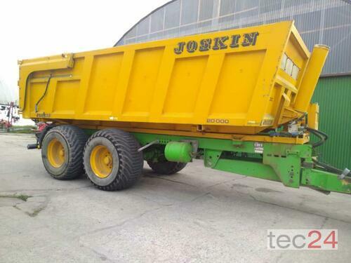 Joskin Cargo Tsm 20 Rok produkcji 2002 Pragsdorf