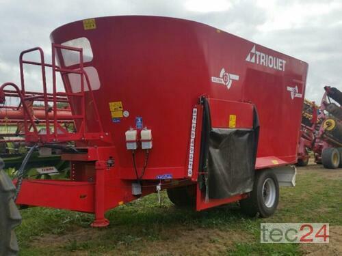 Trioliet 2-24000 L Solomix Baujahr 2015 Pragsdorf