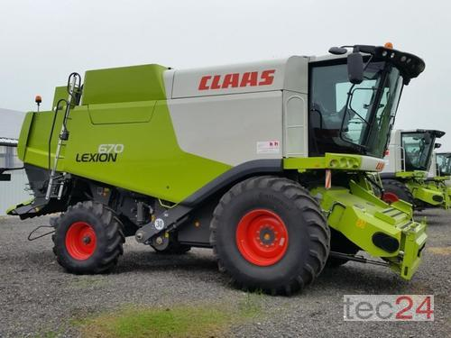 Claas Lexion 670 Rok produkcji 2013 Pragsdorf