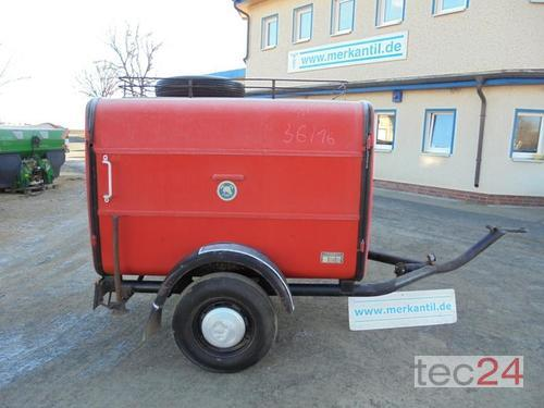 Feuerwehranhänger Rok výroby 1965 Pragsdorf