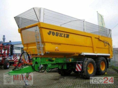 Joskin Trans-Space Muldenkipper Baujahr 2014 Dummerstorf, OT Petschow