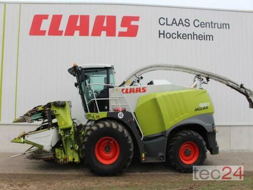 Claas Jaguar 980 Rok produkcji 2014 Hockenheim