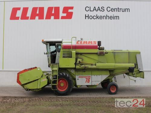 Claas Dominator 76 Rok produkcji 1985 Hockenheim
