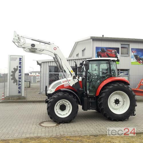 Steyr 4095 Încărcător frontal Anul fabricaţiei 2017