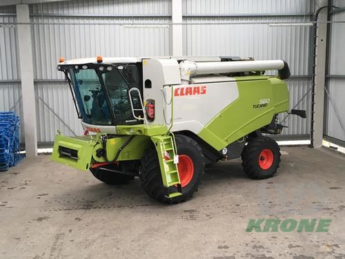 Claas Tucano 560 Business Baujahr 2018 Spelle