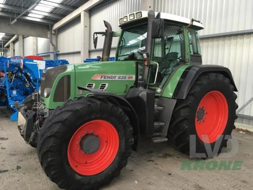 Fendt 820 Vario Year of Build 2008 Spelle