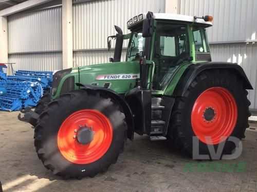 Fendt 820 Vario Year of Build 2009 Spelle