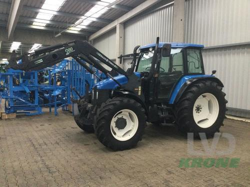New Holland TS 115 Frontlader Baujahr 2001