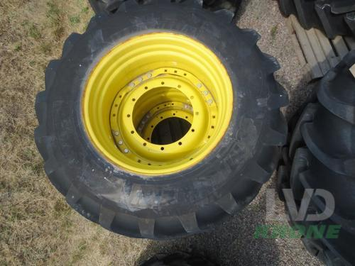 Komplettrad Michelin - IF 650/60R34