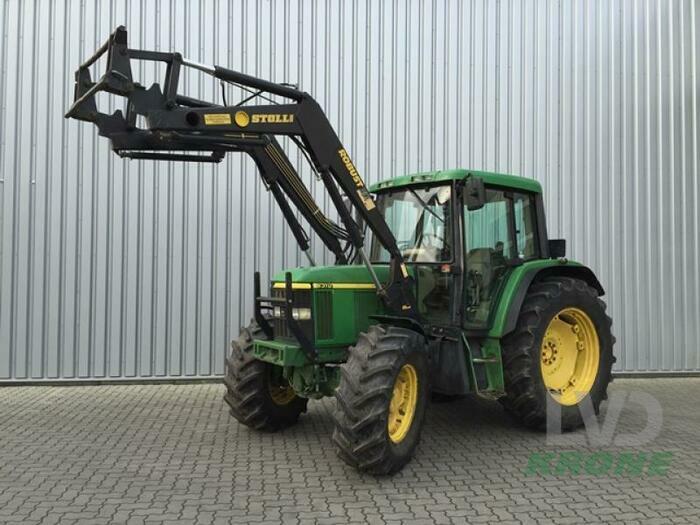 john deere 6310 traktor gebraucht spelle. Black Bedroom Furniture Sets. Home Design Ideas