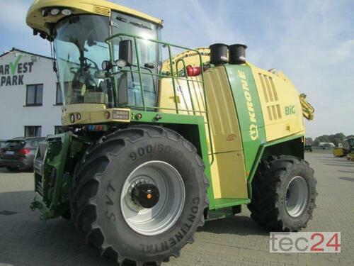 Krone Bigx 700 Harvestsafe Anul fabricaţiei 2014 Tracţiune integrală 4WD