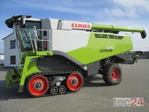 Claas Lexion 670 Terra Trac Year of Build 2019 Emsbüren