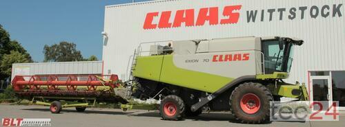 Claas Lexion 570 +SW +TW Vario 750