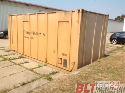 CBM Dieseltank-Container Rok výroby 1986 Heiligengrabe OT Liebenthal