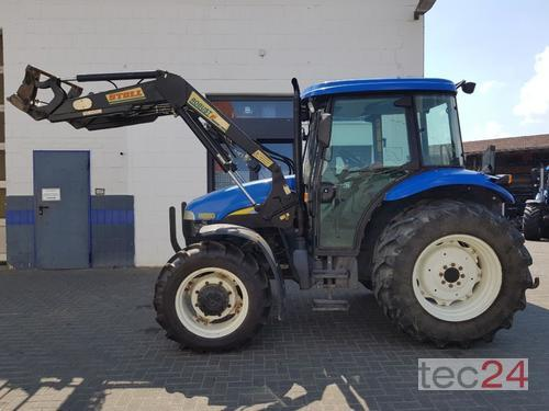 New Holland Td80d Plus Frontlaster Årsmodell 2009