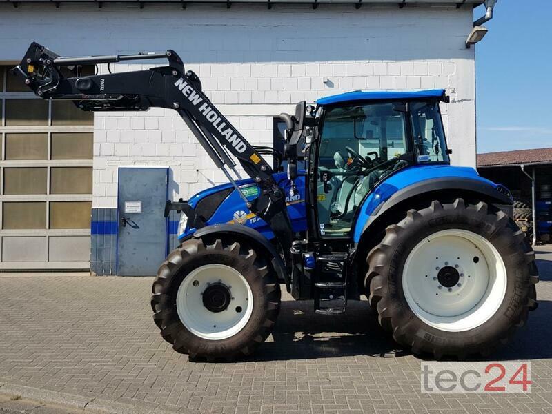 New machine Tractors: New Holland T5 120 EC