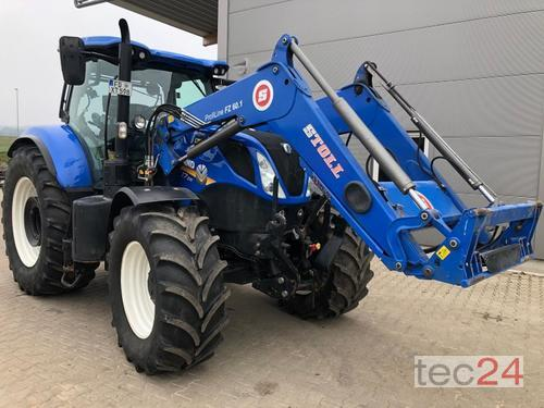 New Holland T 7.210 Auto Command Frontlaster Årsmodell 2017