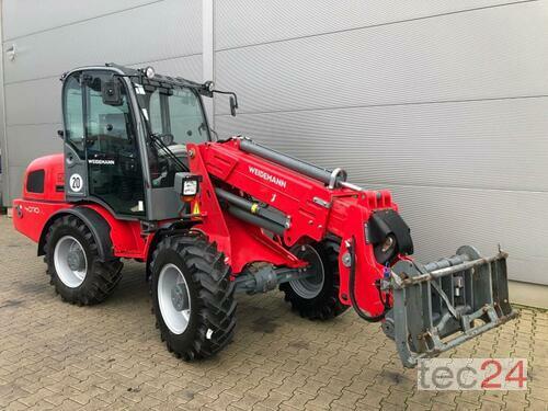 Weidemann 4070 Cx 80t Año de fabricación 2014 Accionamiento 4 ruedas