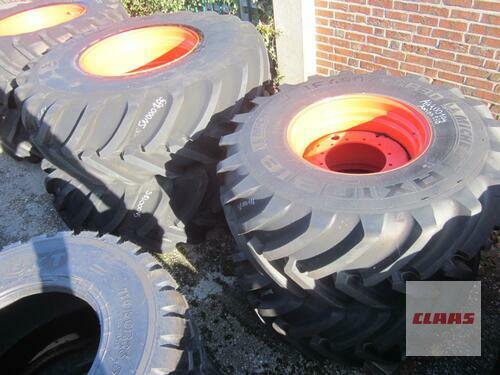 Michelin Radsatz Komplett Claas Axion 900: Michelin Axiobib 650/75r30 Molbergen