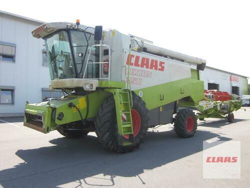 Claas LEXION 450 mit SW C 600 AC u. SW-Wagen