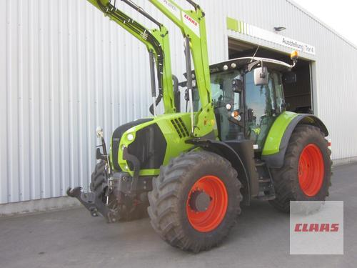 Claas ARION 650 CIS mit Frontlader FL 120 C