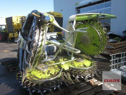 Claas Orbis 600 Ac Auto Contour 3t, 8-Reiher, Für Claas Jaguar 80 Baujahr 2014 Molbergen