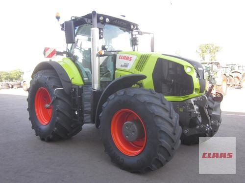 Claas AXION 850 CEBIS, FKH + FZW