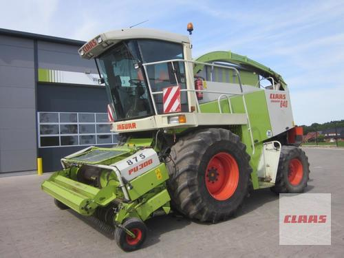 Claas Jaguar 840 (491) Allrad 4wd Mit Pick Up Pu 300