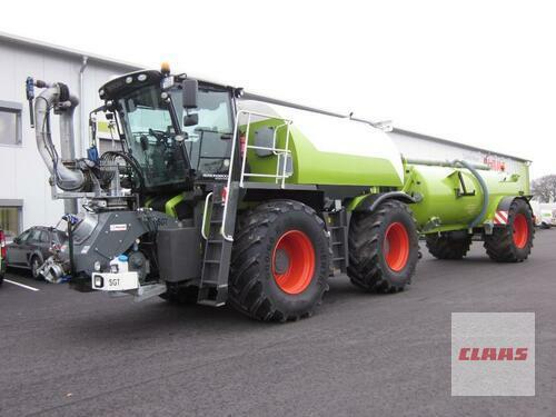 Claas Xerion 3800 Saddle Trac Mit Sgt Aufbau, Anhängefass, Pflege Año de fabricación 2013 Molbergen