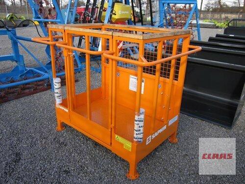 Saphir Arbeitsbühne 250 kg für Frontlader, TÜV Abnahme, NEU !