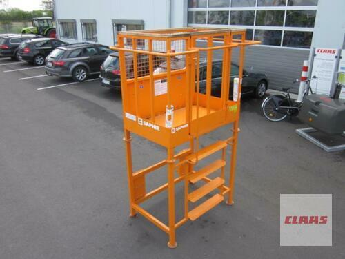 Saphir Arbeitsbühne 250 kg mit Erhöhung  für Frontlader, TÜV Ab